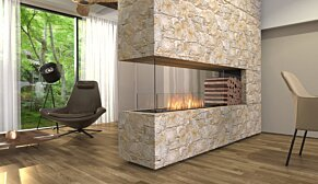 Flex 68PN.BXR Flex Fireplace - In-Situ Image by EcoSmart Fire