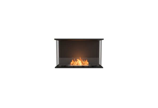 Flex 32 - Ethanol / Black / Installed View by EcoSmart Fire