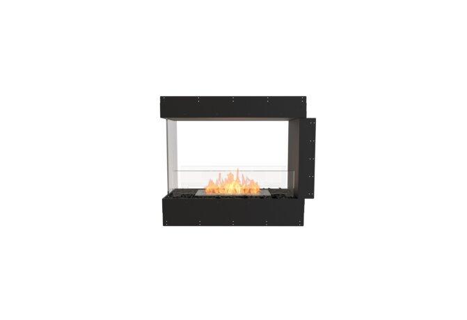 Flex 32PN Peninsula - Ethanol / Black / Uninstalled View by EcoSmart Fire