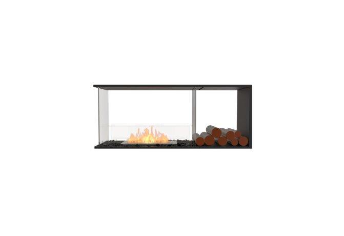 Flex 50PN.BXR Peninsula - Ethanol / Black / Installed View by EcoSmart Fire