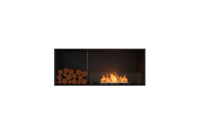 Flex 50SS.BXL Single Sided - Ethanol / Black / Installed View by EcoSmart Fire