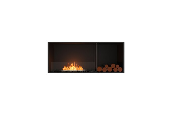 Flex 50SS.BXR Single Sided - Ethanol / Black / Installed View by EcoSmart Fire