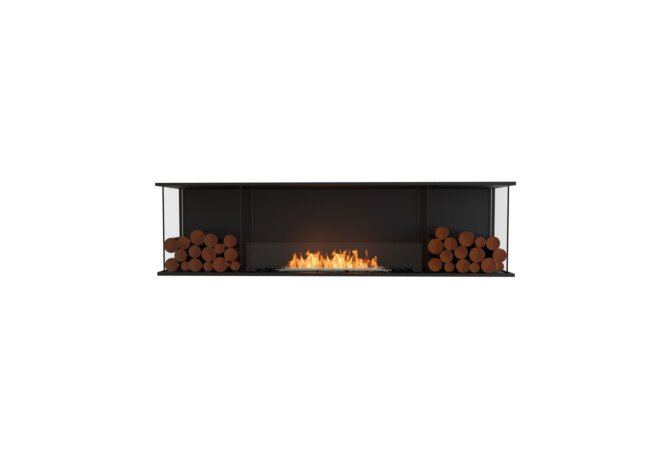 Flex 78 - Ethanol / Black / Installed View by EcoSmart Fire