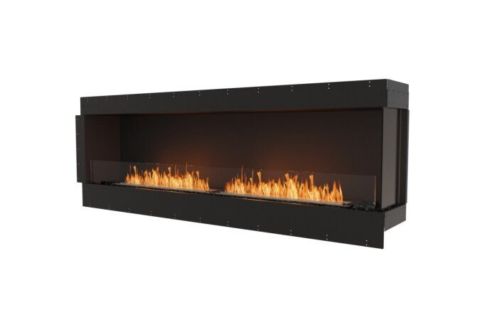 Flex 86RC Right Corner - Ethanol / Black / Uninstalled View by EcoSmart Fire