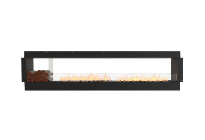 Flex 122DB.BX1 Double Sided - Ethanol / Black / Uninstalled View by EcoSmart Fire