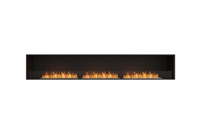 Flex 122SS Single Sided - Ethanol / Black / Installed View by EcoSmart Fire