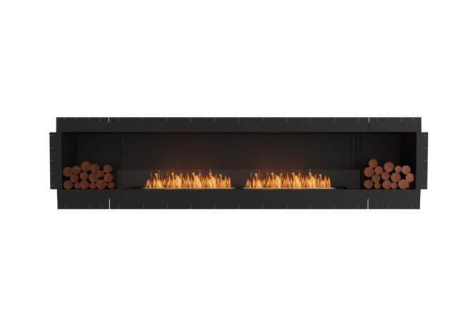 Flex 122SS.BX2 Single Sided - Ethanol / Black / Uninstalled View by EcoSmart Fire