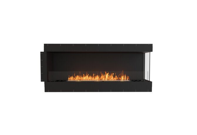 Flex 68RC Right Corner - Ethanol / Black / Uninstalled View by EcoSmart Fire