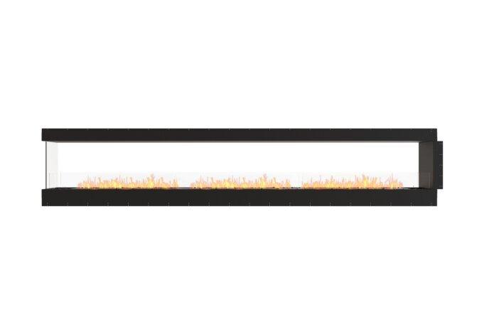 Flex 158PN Peninsula - Ethanol / Black / Uninstalled View by EcoSmart Fire