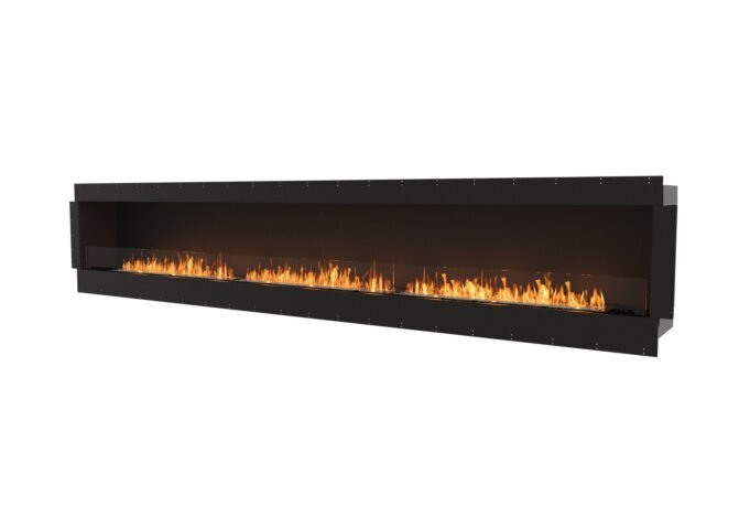 Flex 158SS Single Sided - Ethanol / Black / Uninstalled View by EcoSmart Fire