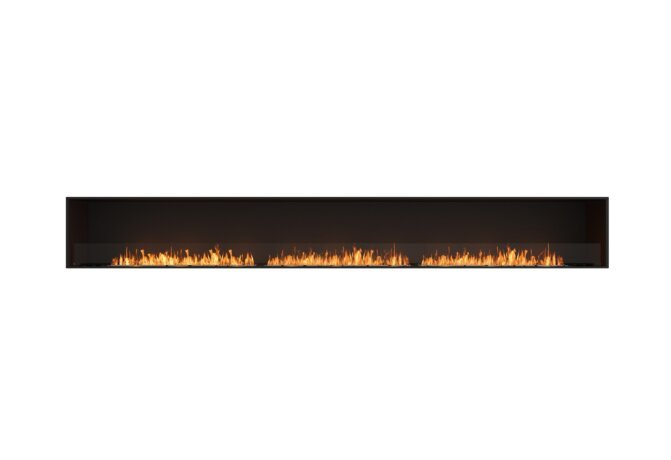 Flex 158SS Single Sided - Ethanol / Black / Installed View by EcoSmart Fire