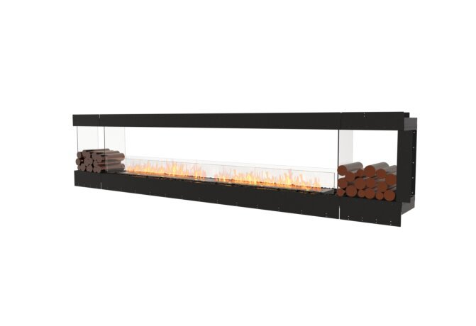Flex 140PN.BX2 Peninsula - Ethanol / Black / Uninstalled View by EcoSmart Fire