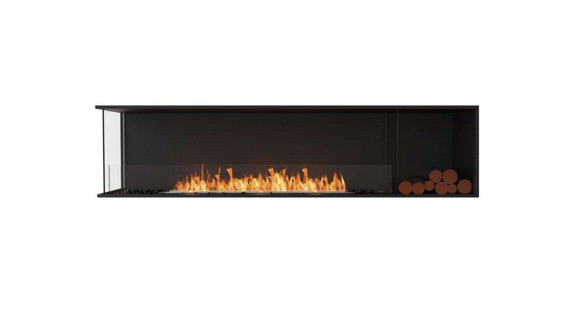 Flex 86lc Bxr Left Corner Fireplace, Bio Ethanol Corner Fireplace
