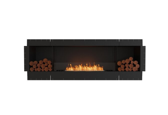 Flex 86SS.BX2 Single Sided - Ethanol / Black / Uninstalled View by EcoSmart Fire