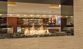 Black Salt Restaurant Commercial Fireplaces Ethanol Burner Idea