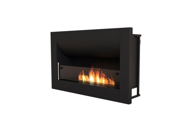 Firebox 920CV Curved Fireplace - Ethanol / Black by EcoSmart Fire