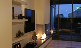 Pia Ruggeri Residential Fireplaces Ethanol Burner Idea