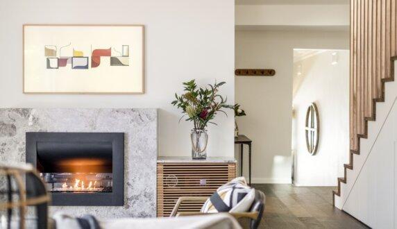 Interior Blossoms - Firebox 720CV Curved Fireplace by EcoSmart Fire