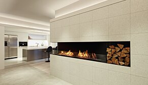 Flex 60LC.BXR Flex Fireplace - In-Situ Image by EcoSmart Fire