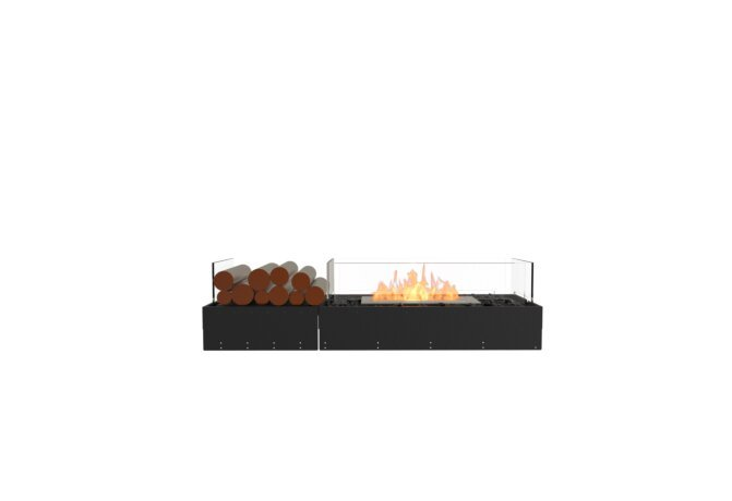 Flex 50BN.BX1 Bench - Ethanol / Black / Uninstalled View by EcoSmart Fire