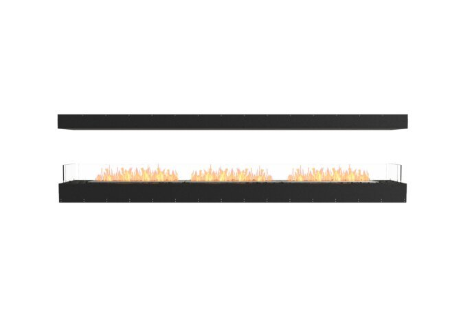 Flex 122IL Island - Ethanol / Black / Uninstalled View by EcoSmart Fire