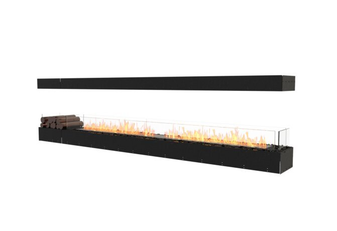 Flex 122IL.BX1 Island - Ethanol / Black / Uninstalled View by EcoSmart Fire