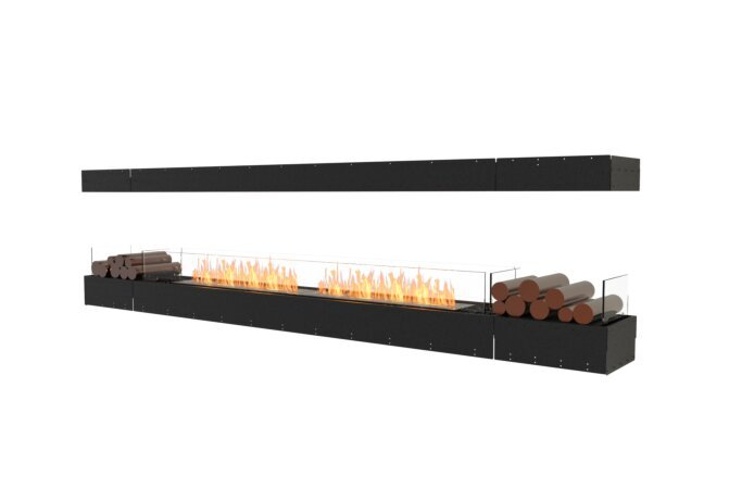Flex 122IL.BX2 Island - Ethanol / Black / Uninstalled View by EcoSmart Fire