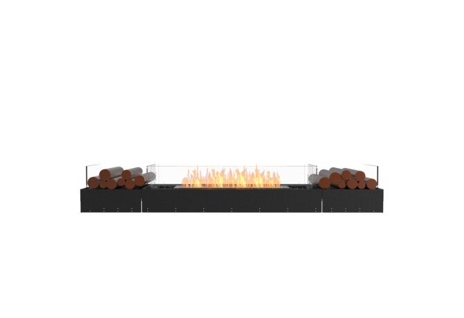 Flex 86BN.BX2 Bench - Ethanol / Black / Uninstalled View by EcoSmart Fire
