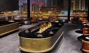 Linear 90 Modern Fireplace - In-Situ Image by EcoSmart Fire