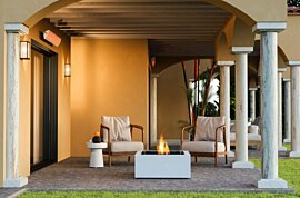 Base 30 Outdoor Fireplace - In-Situ Image by EcoSmart Fire