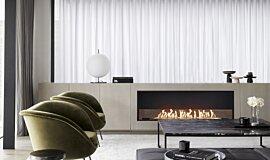 Lawle & Meyerson Builder Fireplaces Single Sided Idea