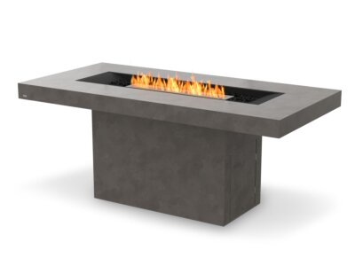 Gin 90 (Bar) Fire Table - In-Situ Image by EcoSmart Fire