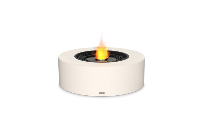Ark 40 Fire Table - Ethanol - Black / Bone by EcoSmart Fire