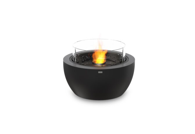 Pod 30 Fire Pit - Ethanol - Black / Graphite / Optional Fire Screen by EcoSmart Fire