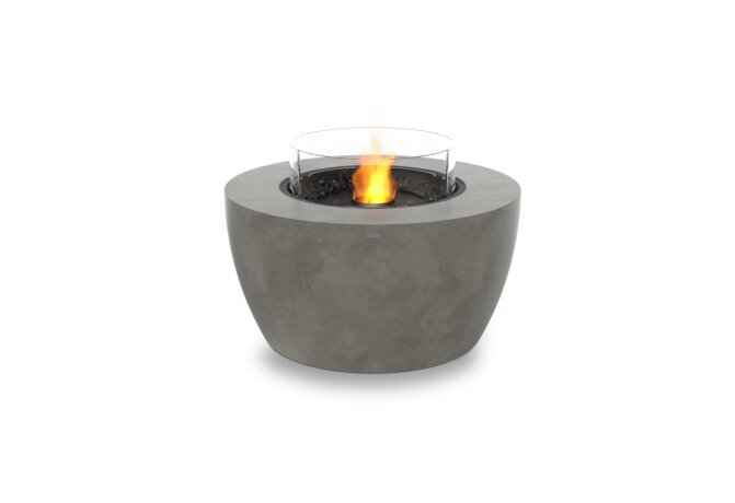 Pod 40 Fire Pit - Ethanol - Black / Natural / Optional Fire Screen by EcoSmart Fire