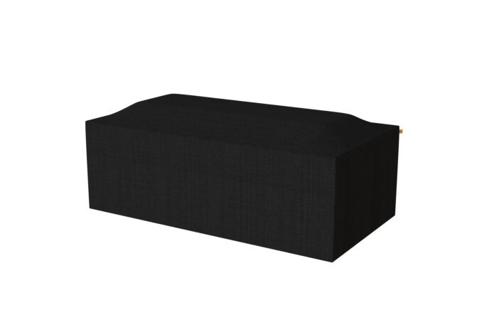 Gin 90 Dining Cover Protective Cover - Black by EcoSmart Fire