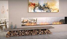 Lounge Area Linear Fires Flex Sery Idea