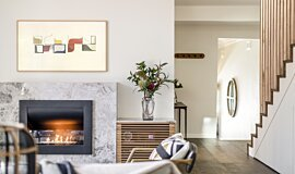 Interior Blossoms Indoor Fireplaces Fireplace Insert Idea