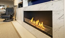 Private Residence Indoor Fireplaces Flex Sery Idea