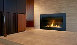 Private Residence Residential Fireplaces Curved Sery Idea