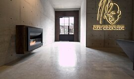 Max Brenner Builder Fireplaces Curved Sery Idea