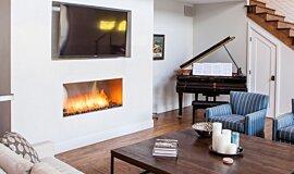 Studio City Linear Fires Inserts de cheminée Idea