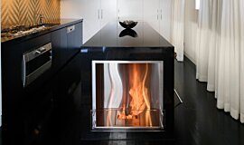 Kitcheners Kitchen Interior Designs Fireplace Insert Idea