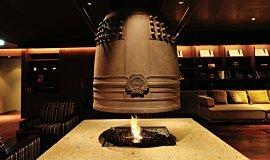 Chikusenso Mt Zao Onsen Resort & Spa See-Through Fireplaces Ethanol Burner Idea