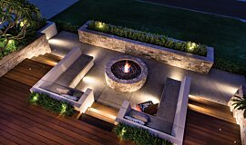 Oswald Down South Home Residential Fireplaces Ethanol Burner Idea