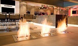 Allianz Arena Builder Fireplaces Built-In Fire Idea