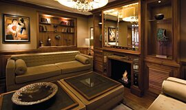 St James Boutique Hotel Builder Fireplaces Built-In Fire Idea