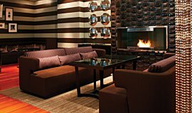 Westin Hotel Builder Fireplaces Built-In Fire Idea