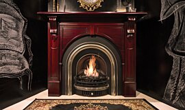 TFC Showroom Traditional Fireplaces Built-In Fire Idea