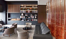 St Regis Hotel Bar Builder Fireplaces Ethanol Burner Idea